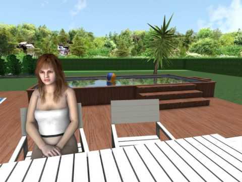 Aménagement Terrasse Piscine Hors Sol (2) - Youtube