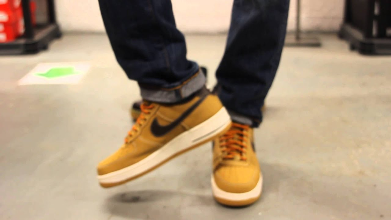 Air Boot Nike Force 1 Low Wheat Work tsrdQChx