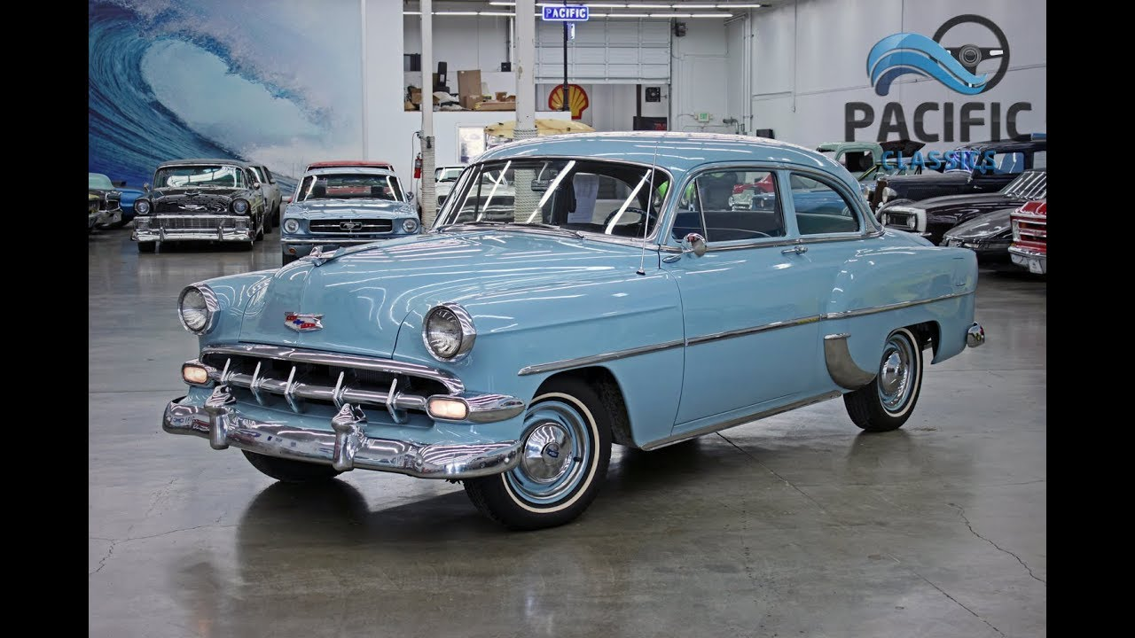 1954 Chevrolet 2 Door By Pacific Classics 1949 Styleline Chevy Horn Wiring