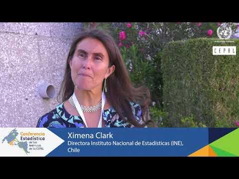 Ximena Clark, Directora del INE de Chile