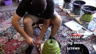 Homemade Flat lap - DIY lapidary equipment tutorial - Gemstone polishing