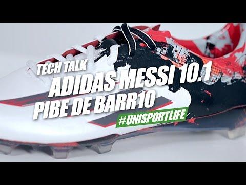 adidas Messi 10.1 Pibe de Barr10 Tech Talk