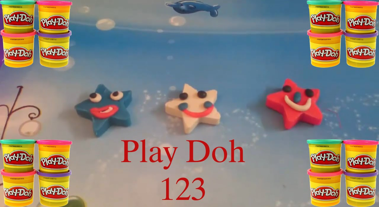 make the funny stars with play doh play doh for kids youtube. Black Bedroom Furniture Sets. Home Design Ideas