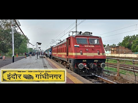 INDORE to GANDHINAGAR : A Complete Journey in SHANTI Express (Indian Railways)
