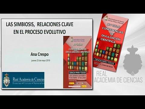 Ana Crespo de Las Casas, 23 de mayo de 2019.18ª conferencia delXV CICLO DE CONFERENCIAS DE DIVULGACIÓN CIENTÍFICA.CIENCA PARA TODOS 2019▶ Suscríbete a nuestro canal de YouTubeRAC: https://www.youtube.com/RealAcademiadeCienciasExactasFísicasNaturales