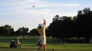 Golf Swing at Jimmy Clay, Austin