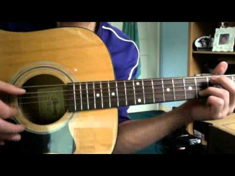 How To Play Save Him by Justin Nozuka on guitar