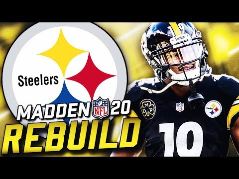 Rebuilding the Pittsburgh Steelers | Mason Rudolph Takes Over! Madden 20 Franchise