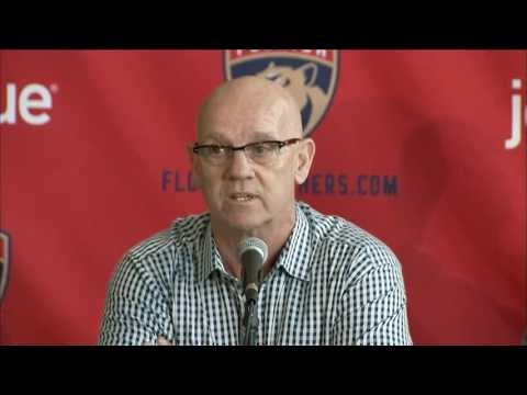 Tom Rowe - Florida Panthers press conference