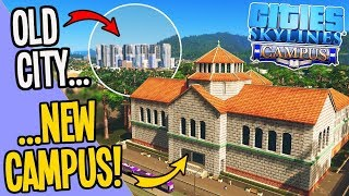 Making $$$ with a University Campus in your City - Cities Skylines (Campus DLC)
