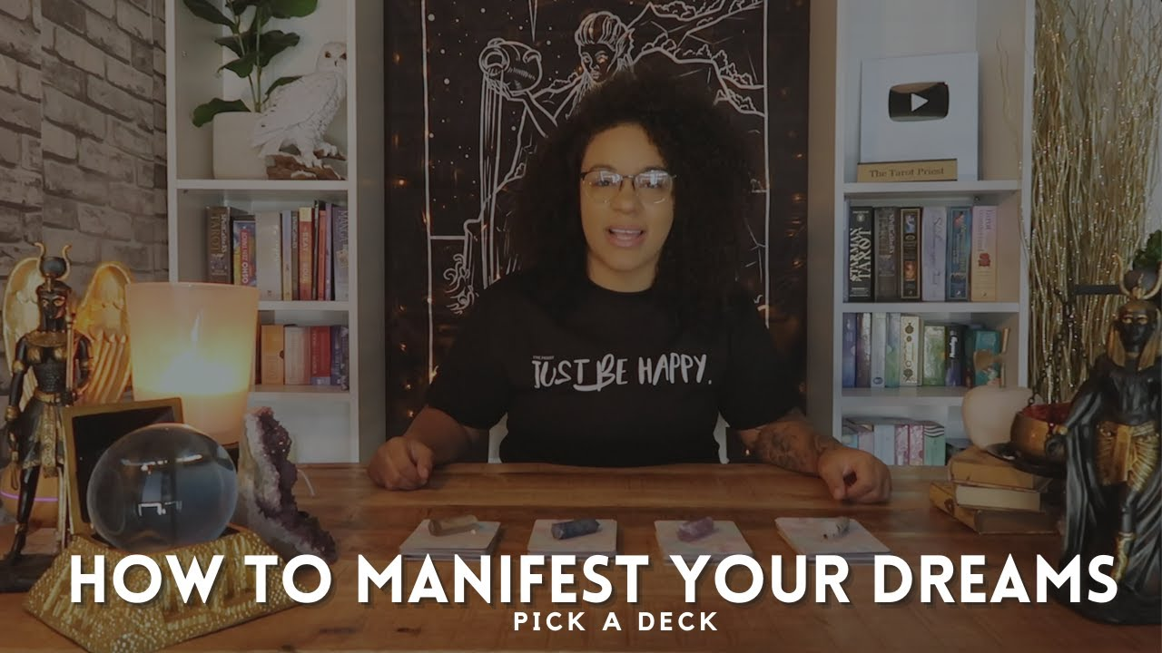 🎱(Pick A Deck) 🎱- HOW TO MANIFEST YOUR DREAMS !?!💕(Tarot Reading)