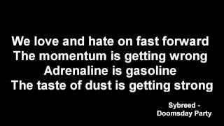 Sybreed - Doomsday Party [Lyrics]