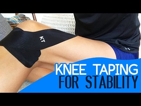 Knee Taping for Stability: Meniscus Tear, ACL Strain and Cartilage