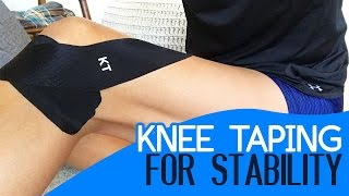 Knee Taping Stability Meniscus Tear Acl Strain And Cartilage