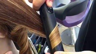 pres kullanarak  dalgalı saçlar nasıl yapılır