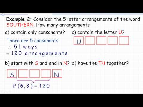 Permutations With Restrictions