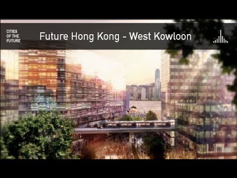 Future Hong Kong - West Kowloon Cultural District by Foster + Partners