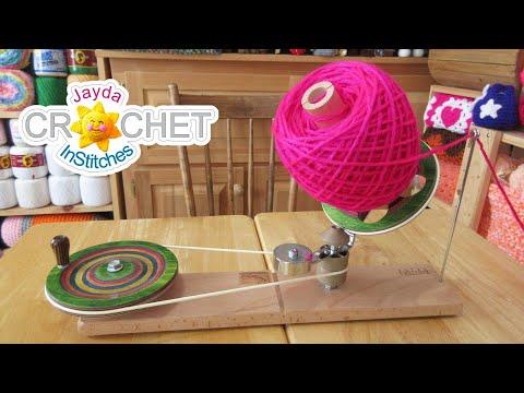Knitters Pride Mega Wool Winder - Unboxing & Demonstration
