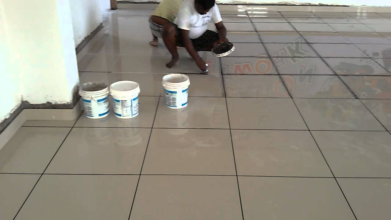 Epoxy Tile Grout Youtube