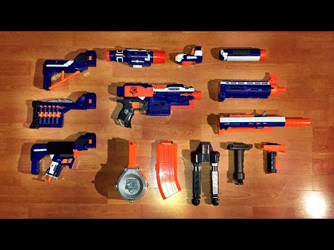 NERF N-STRIKE MODULUS ECS-10 Blaster And Expansion Kits ...