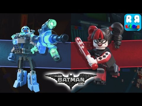 The LEGO Batman Movie Game - New Boss Battles Harley Quinn and Mr. Freeze !