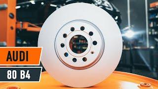 Audi 80 b4 apkope - video pamācības