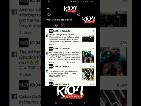 Chino T Nomiated #1 Song on K1045 DFW in 2017