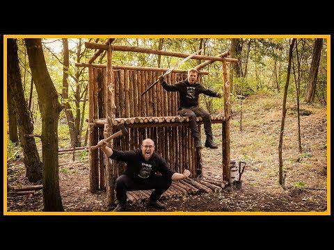 Bushcraft Camp [S05/E06] Wehrgang fürs Fort!? ???? - Outdoor Bushcraft Deutschland