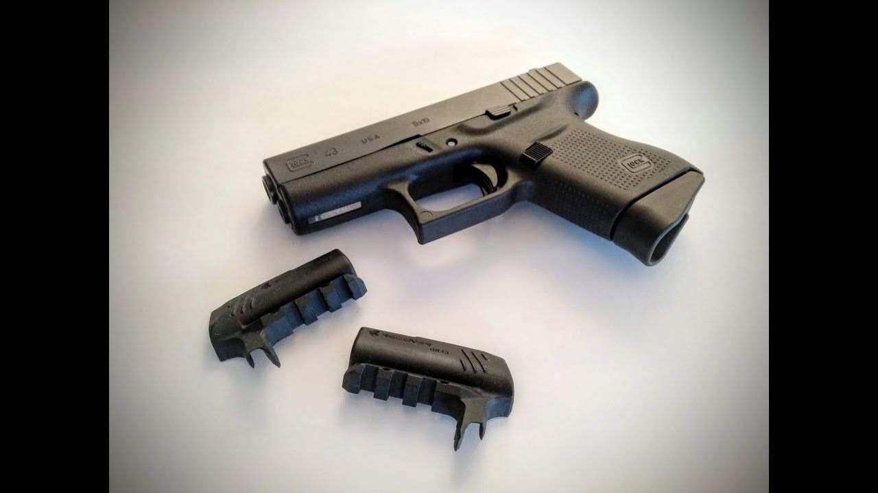Glock 43/43x/48 Recover Tactical Rail Adapter