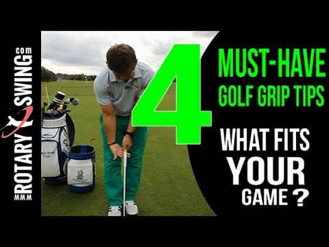 4 Golf Grip Tips | Make Your Grip Perfect