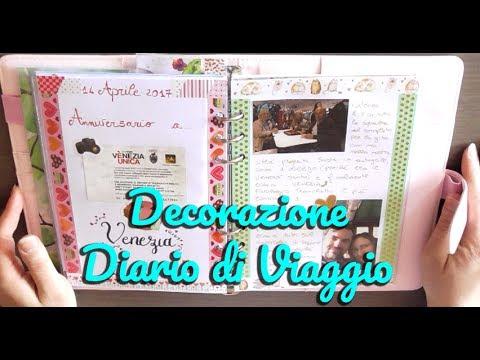 Decorazione Del Mio Diario Di Viaggio 1 Decorazione