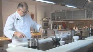 Vanilla Creme Anglaise By Pierre-dominique Cécillon For Larousse Cuisine
