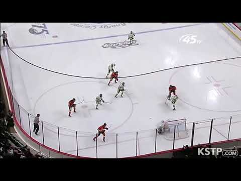 Check out this sweet 3 on 2 from my school in the Minnesota state high school hockey tournament!