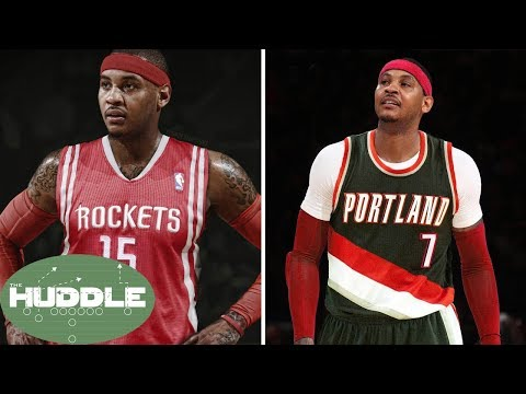 Should Carmelo Anthony Sign with the Rockets or Trail Blazers?  The Huddle