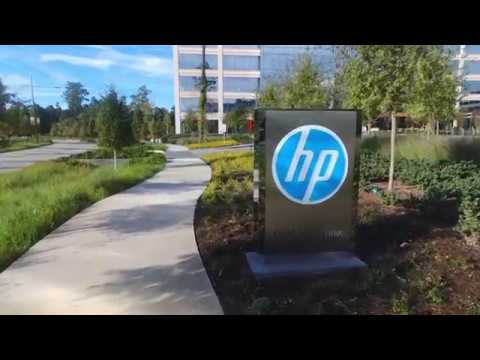 HP Inc Houston Campus - A Peek Inside