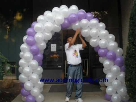 Decoracion con globos para boda YouTube