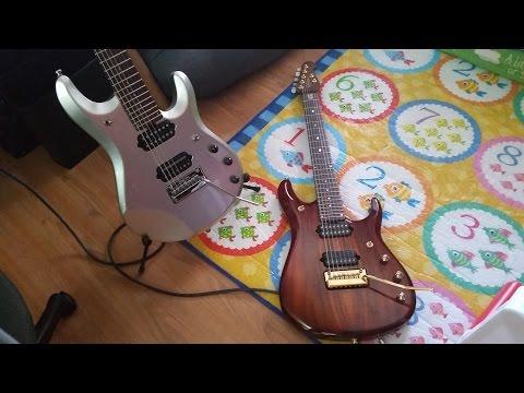 Music Man JP Comparison - Standard vs. Koa. Big Difference?