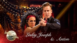 Lesley Joseph and Anton Du Beke Tango to 'Whatever Lola Wants' - Strictly 2016: Week 5