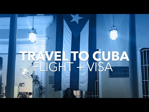 Travel to Cuba: #1 Booking a Flight + Visa From the United States