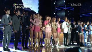[HD] 120920 BoA with all the artists - Heal The World (K-POP Nature+ Concert)