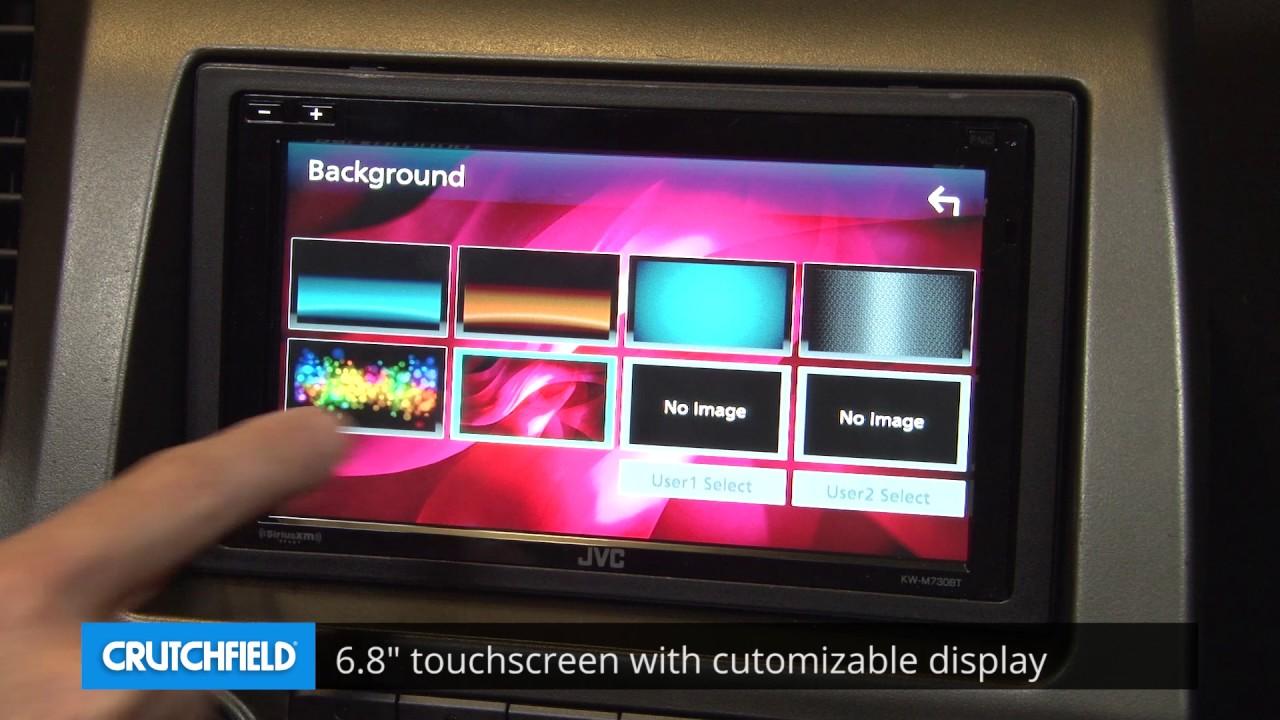 Jvc Kw M730bt Display And Controls Demo Crutchfield Video Youtube Wiring Harness Gauge