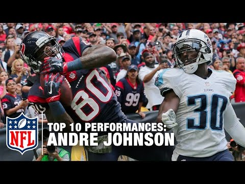 Top 10 Andre Johnson Games | NFL Now