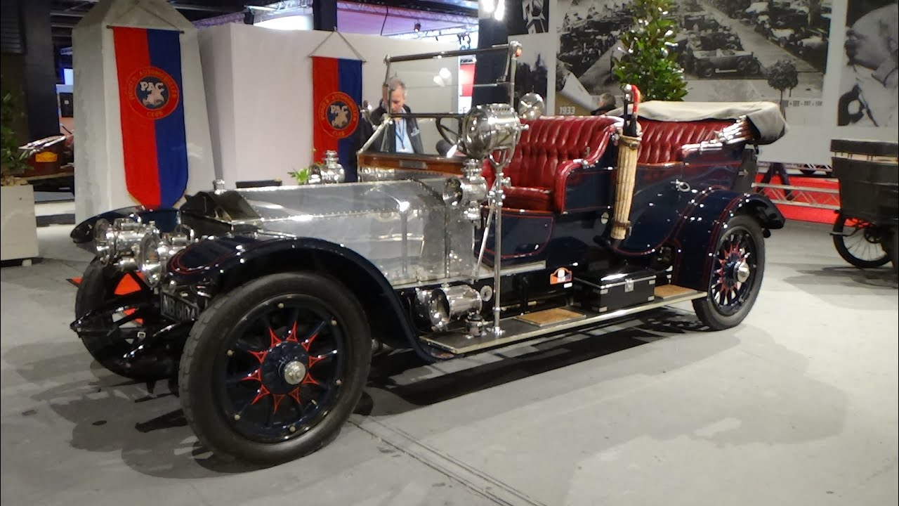 1910, Rolls Royce Silver Ghost Roi-de-Belge-Tourer, Exterior and ...