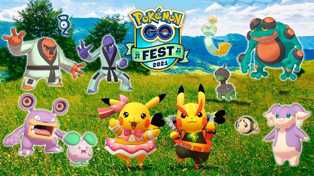 🚨¡TODO el Pokémon GO Fest 2021!🚨 ¡Nuevos SHINY, HABITATS, INVESTIGACIÓN,  REGIONALES y más! [Keibron]