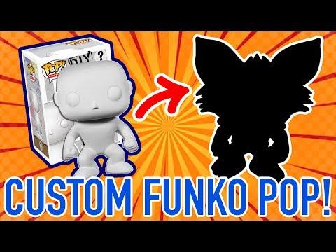 Making a Custom DIY FUNKO Pop! Figure #6 Pent the Arctic Fox