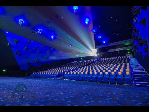 Inside the Biggest Multiplex of Pakistan - Universal Cinemas