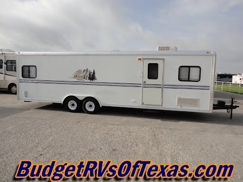 Here Is A Steal Of A Deal! 2004 28ft Bumper Pull Work And Play Toy Hauler