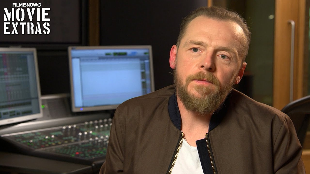 Download Ice Age: Collision Course   On-set with Simon Pegg 'Buck' [Interview]