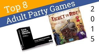 8 Best Adult Party Games 2015