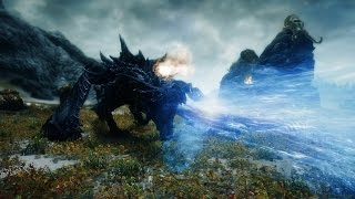 Skyrim MOD 「Elemental Dragons」 Demo Video